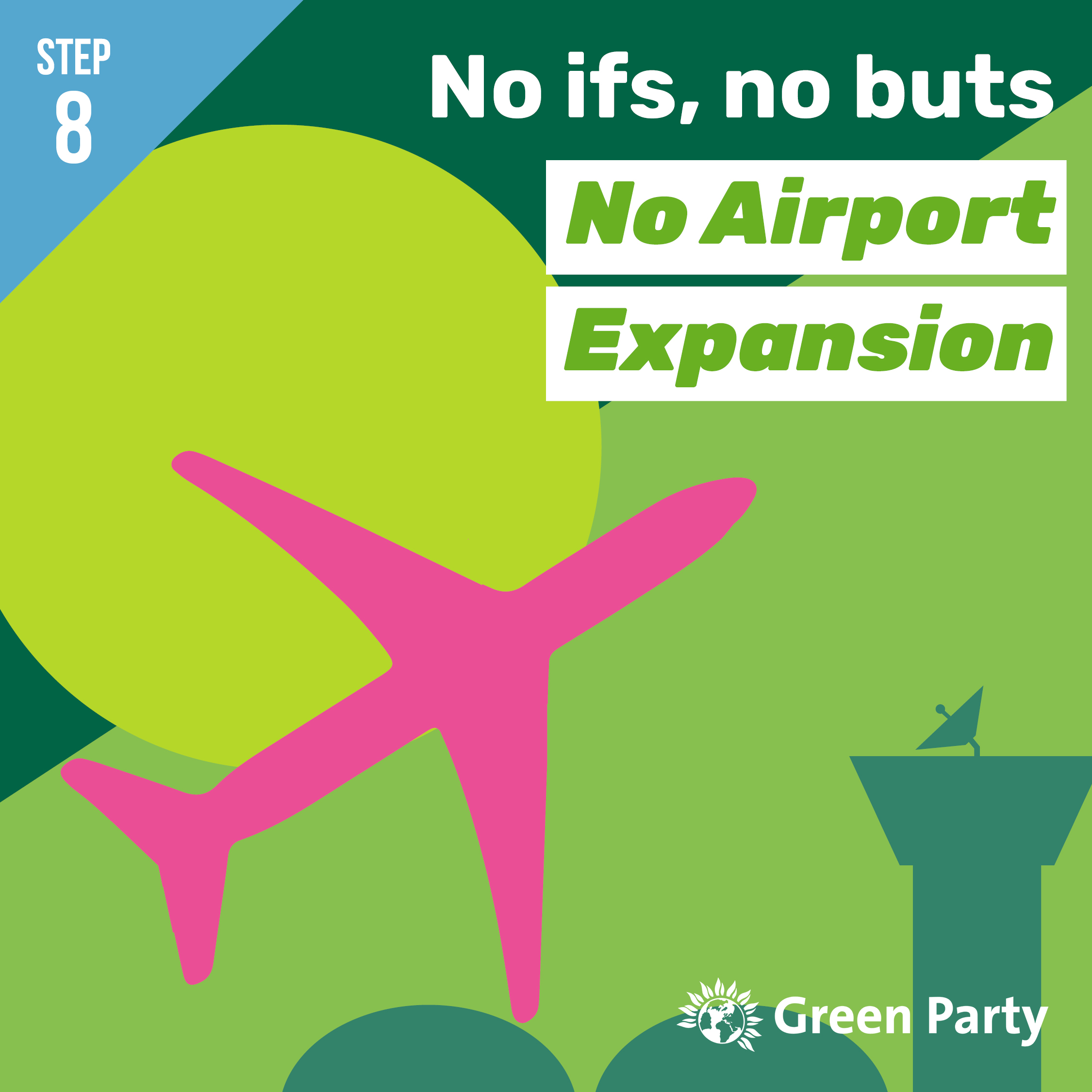 Step 8 - No Airport Expansion [Facebook & Instagram]